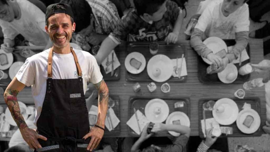 Juan Llorca estudió para ser chef y se interesó por la Nutrición.