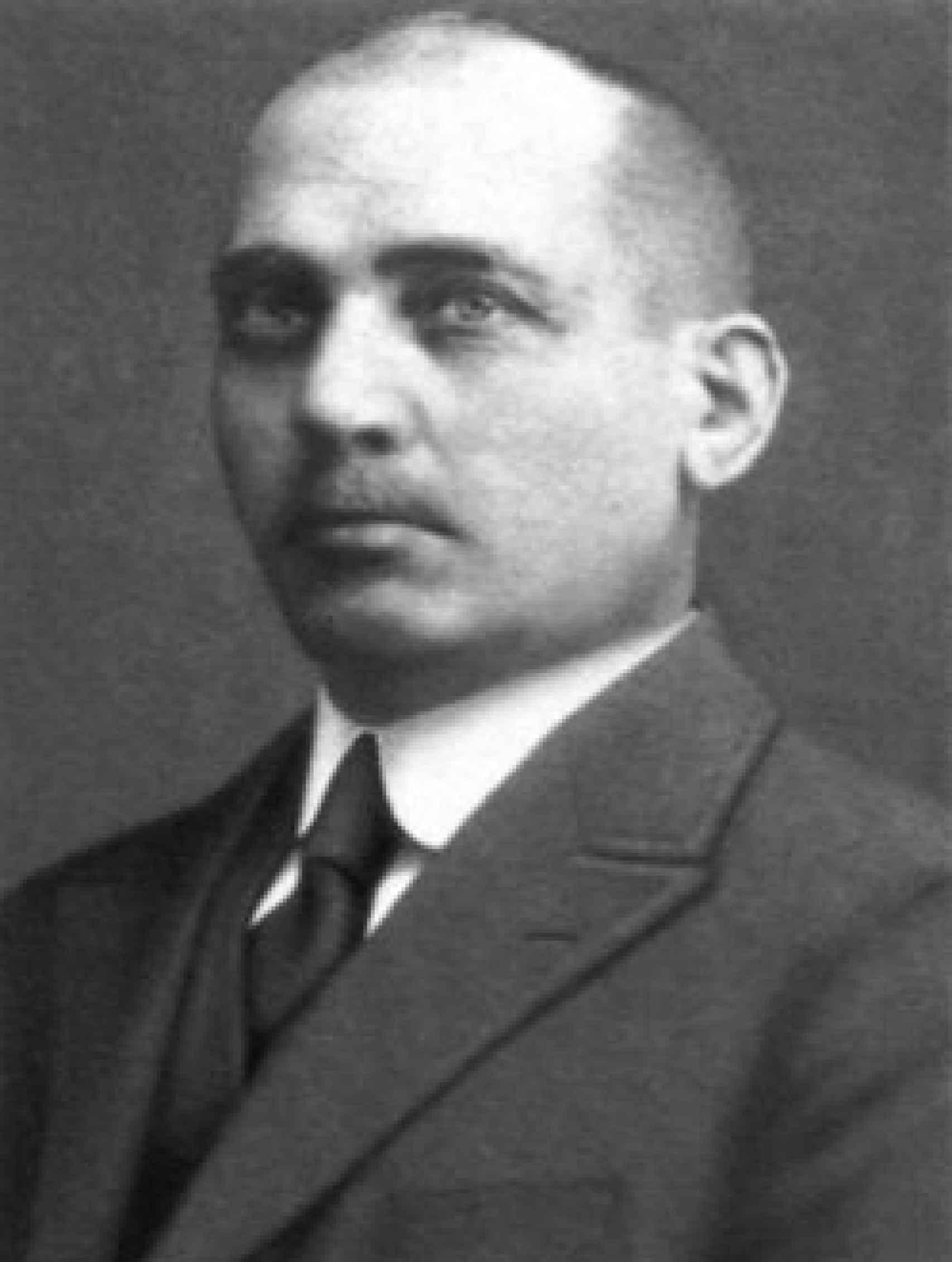 El fundador de la empresa, Isaac Carasso.