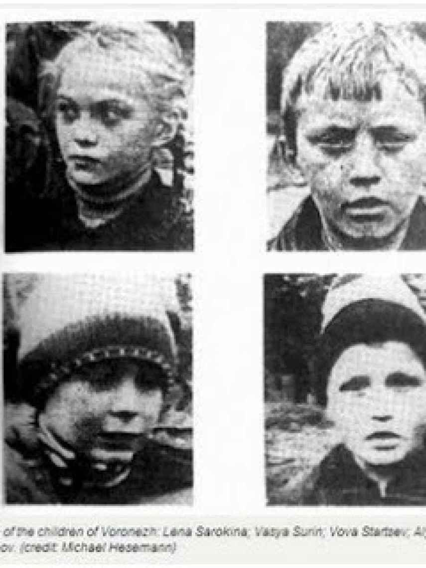 Lo niños testigos del incidente de Voronezh