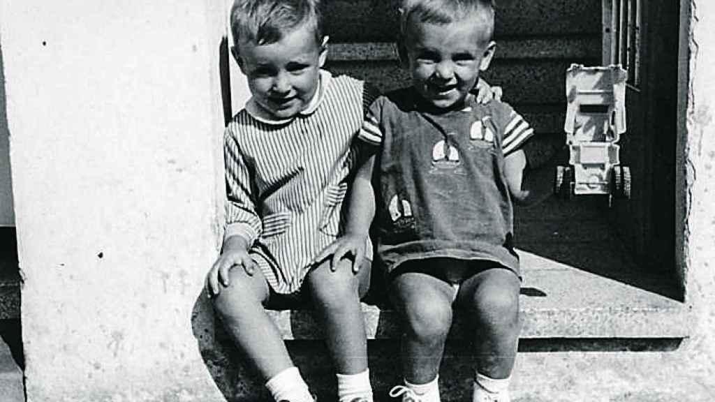 Francesc y Carles, los dos hermanos mayores de los Puigdemont.