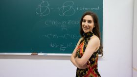 La matemática Marithania Silvero Casanova.