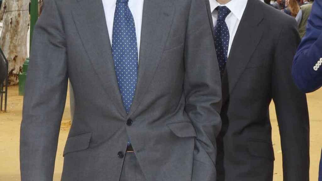 Adolfo Suárez Illana y su hijo Adolfo.