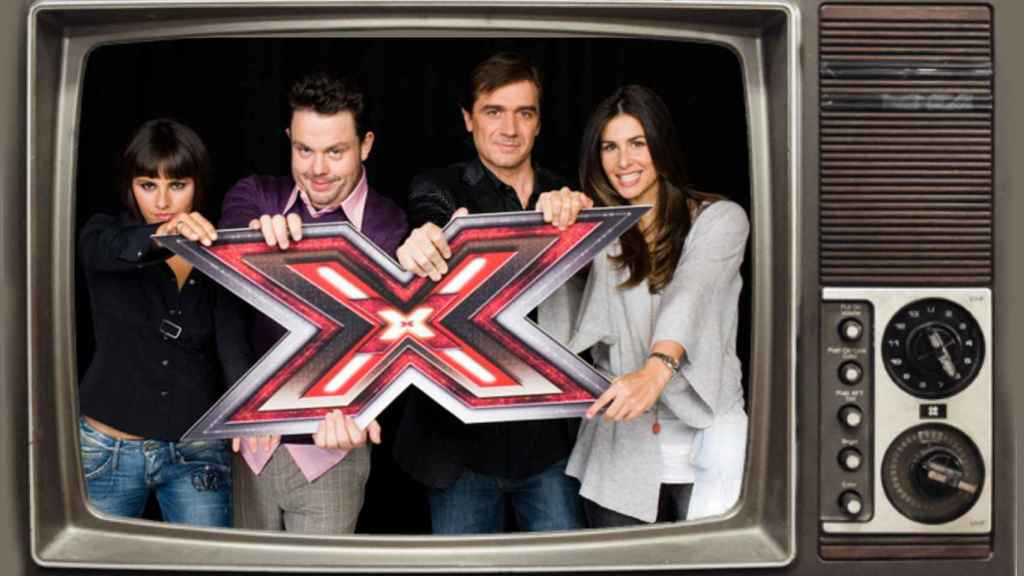 Montaje de 'Factor X'.