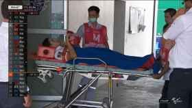 Marc Márquez, trasladado al hospital en Buriram