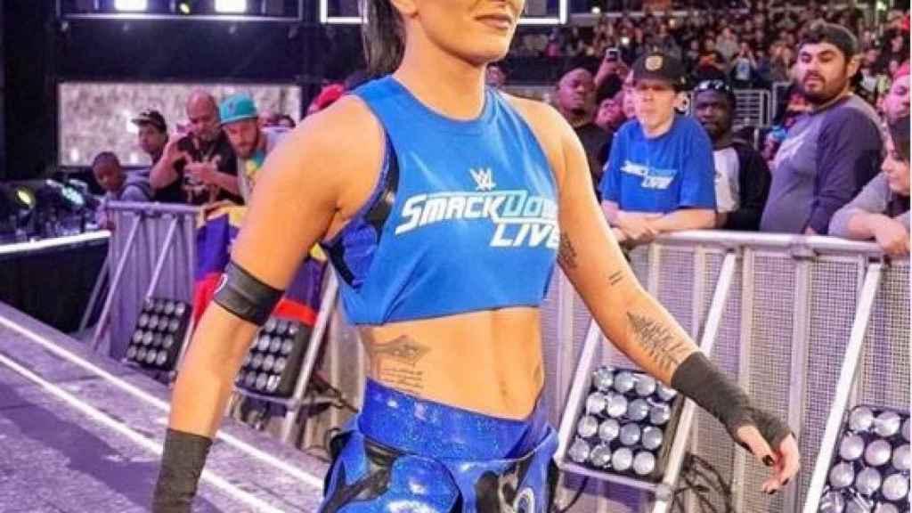 Sonya Deville, luchadora de WWE