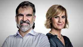Portada de 'Tres días en la cárcel' (Plaza y Janés), por Jordi Cuixart y Gemma Nierga.