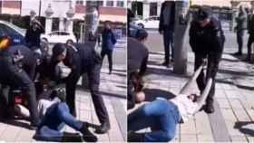 Agentes de la Policía tuvieron que intervenir