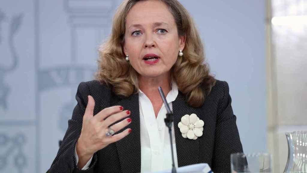 Nadia Calviño, ministra de Economía en funciones.
