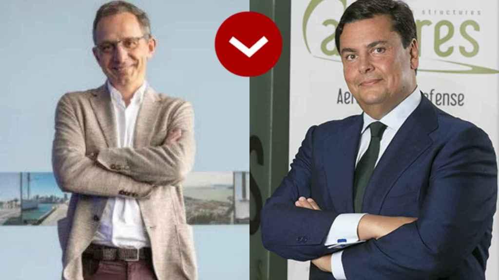 A LOS LEONES: Enrique Lores (HP) y Borja Martínez-Laredo  (Airtificial)