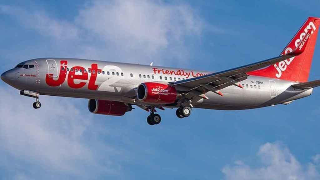 Un avión de Jet2.com en una Imagen de archivo.
