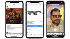 Lo nuevo de Instagram permite probarte gafas antes de comprarlas