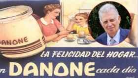 Antiguo anuncio de publicidad de Danone.