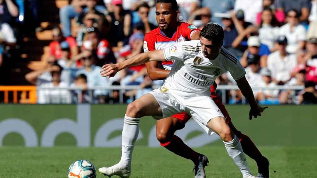 Fede Valverde en el Real Madrid-Granada