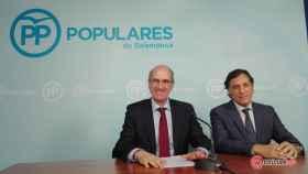 Javier Iglesias y Carlos Carbayo PP