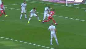 El Granada pidió mano de Ramos en el área del Real Madrid