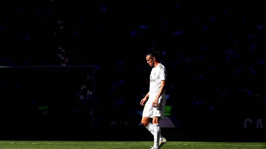 Gareth Bale en el Santiago Bernabéu
