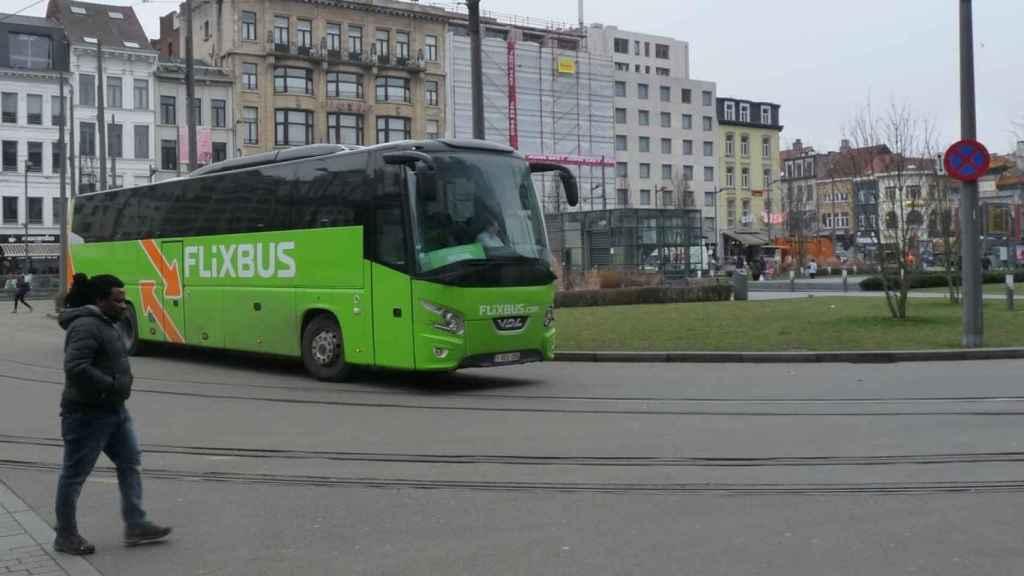 Autobús de la compañía Flixbus.