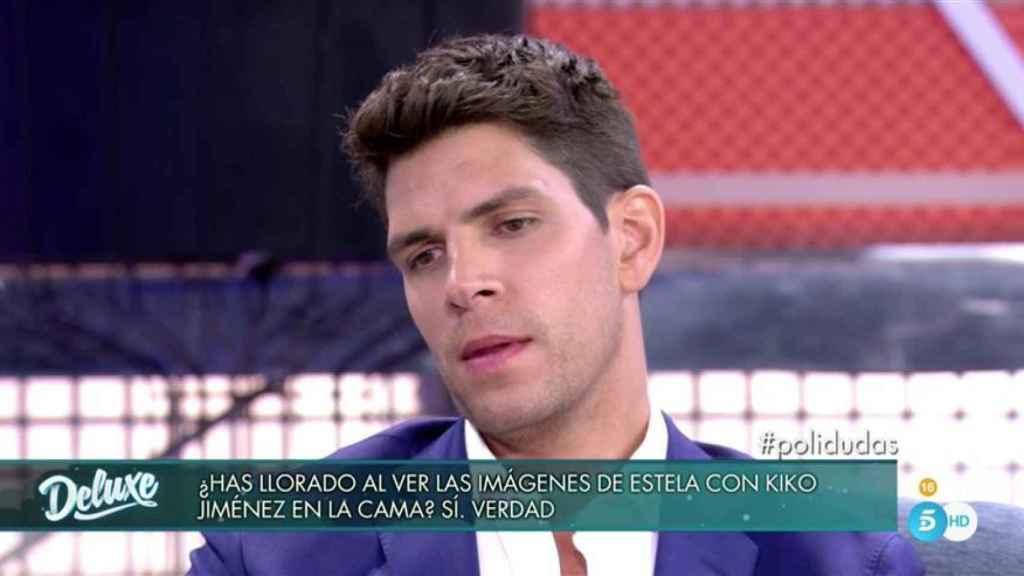 Diego Matamoros durante su entrevista en 'Sábado Deluxe'.