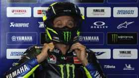 Valentino Rossi, en el GP de Tailandia