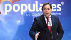 Paco Núñez, presidente del PP de Castilla-La Mancha
