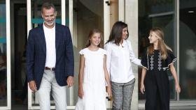 Los Reyes y sus hijas han asistido por sorpresa al concierto de Ara Malikian.