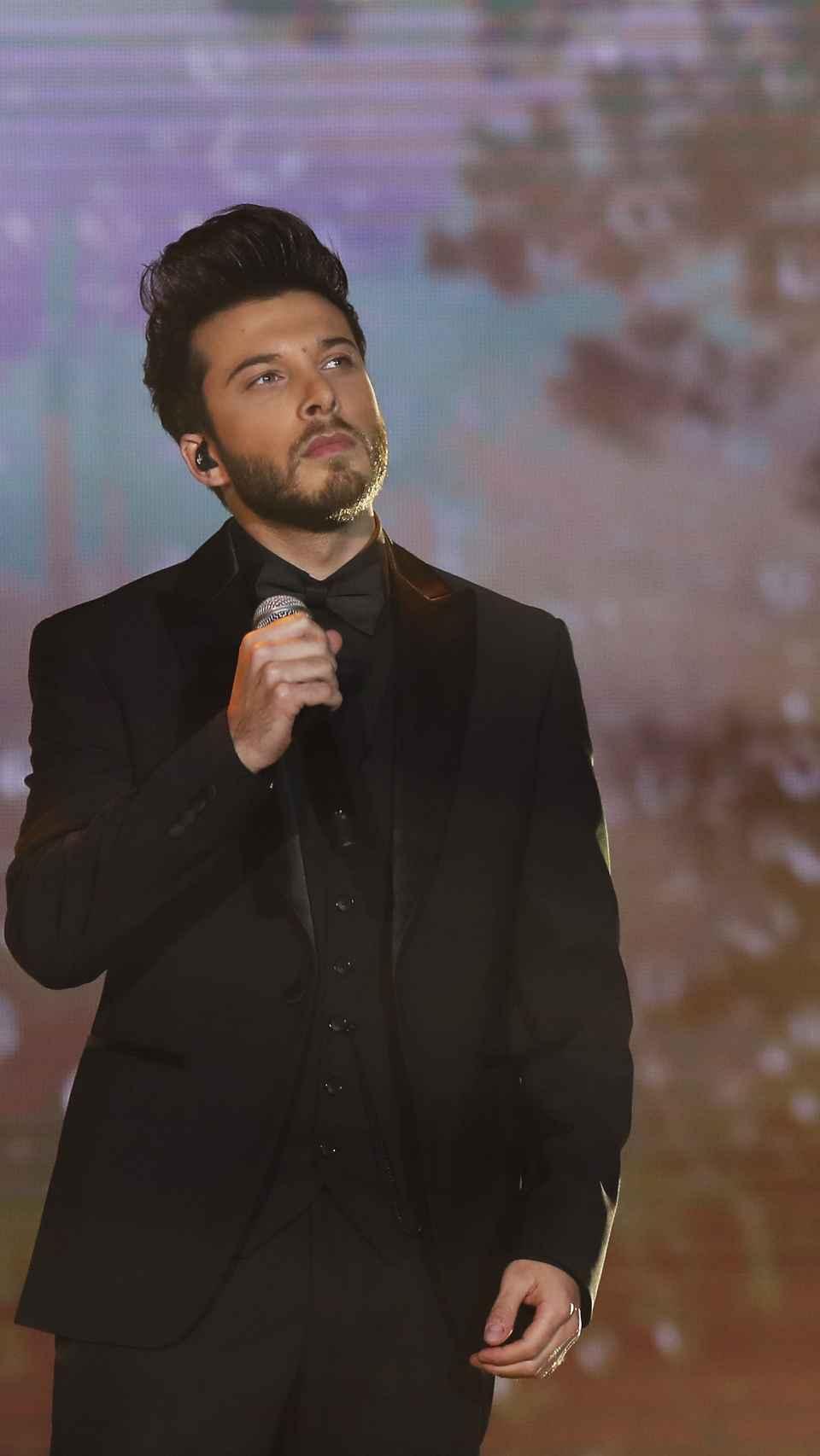 Blas Cantó en los Premios Forqué el pasado mes de enero.