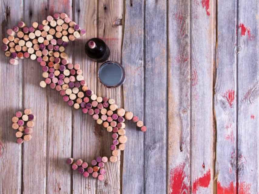 En Italia todas las regiones producen vino.