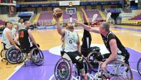 baloncesto silla ruedas bsr valladolid copa europa 1