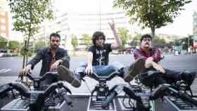 Carlos, Sixto y Jorge: la Trinidad.