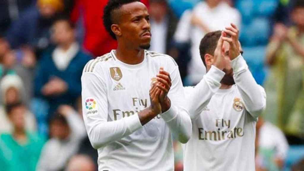 Éder Militao, con el Real Madrid