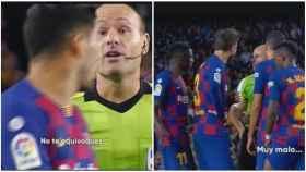 Mateu Lahoz da la nota en el Barcelona - Sevilla