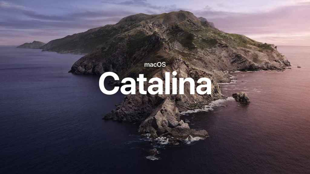macOS Catalina.