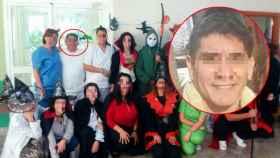Marcos C, detenido por abusar sexualmente de una enferma, en una fiesta en la residencia en la que trabajaba.