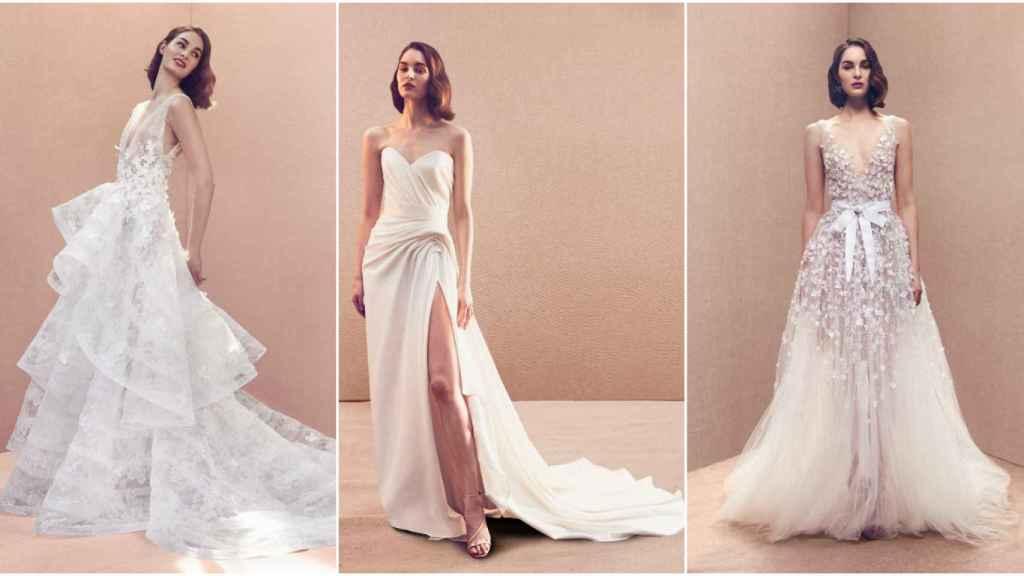Oscar de la Renta tiene el vestido nupcial de la novia más exigente del 2020.