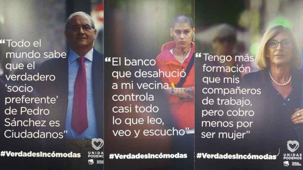 Verdades incómodas es el lema de Unidas Podemos para las elecciones del 10N