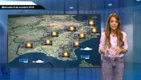 Fotograma de la predicción del tiempo de este miércoles.