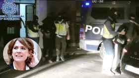 Detención del yihadista en Parla.