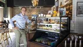 Augusto Méndez de Lugo, CEO de FoodBox, en un local de Santagloria.