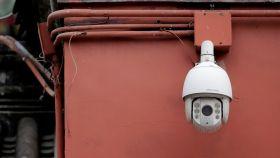 Cámara de vigilancia en China.