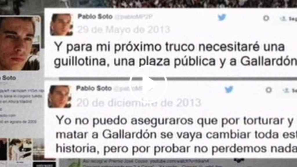 Mensajes de Pablo Soto sobre Gallardón en 2013