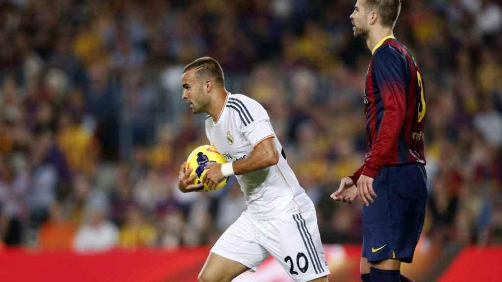 El estreno goleador de Jesé, en el Camp Nou