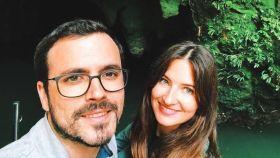 Alberto Garzón y Anna Ruiz en una imagen de sus redes sociales.