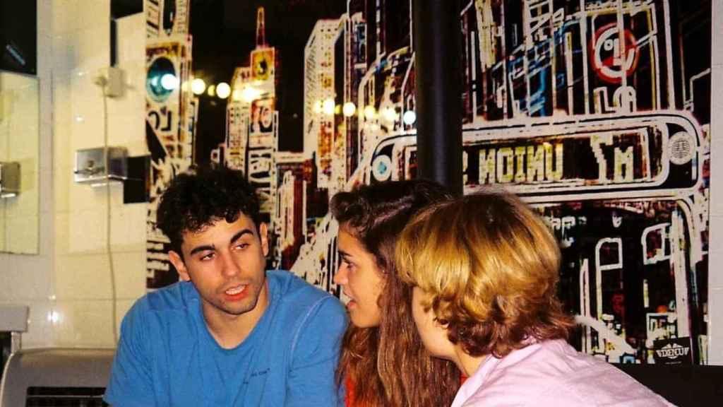 Amaia Romero y Diego Ibáñez en una imagen de redes sociales.