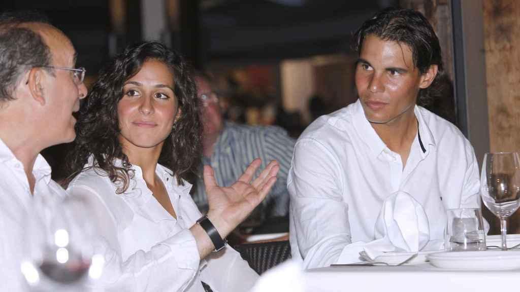 Rafa Nadal y Xisca en una imagen tomada en 2012.