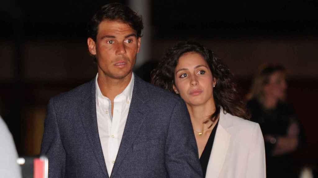 Rafa Nadal y Xisca Perelló en una imagen de archivo.