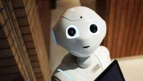 Robot humanoide en una imagen de archivo.
