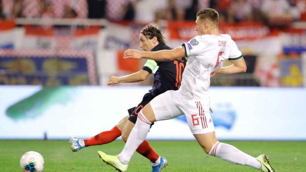 Gol de Modric a Hungría.