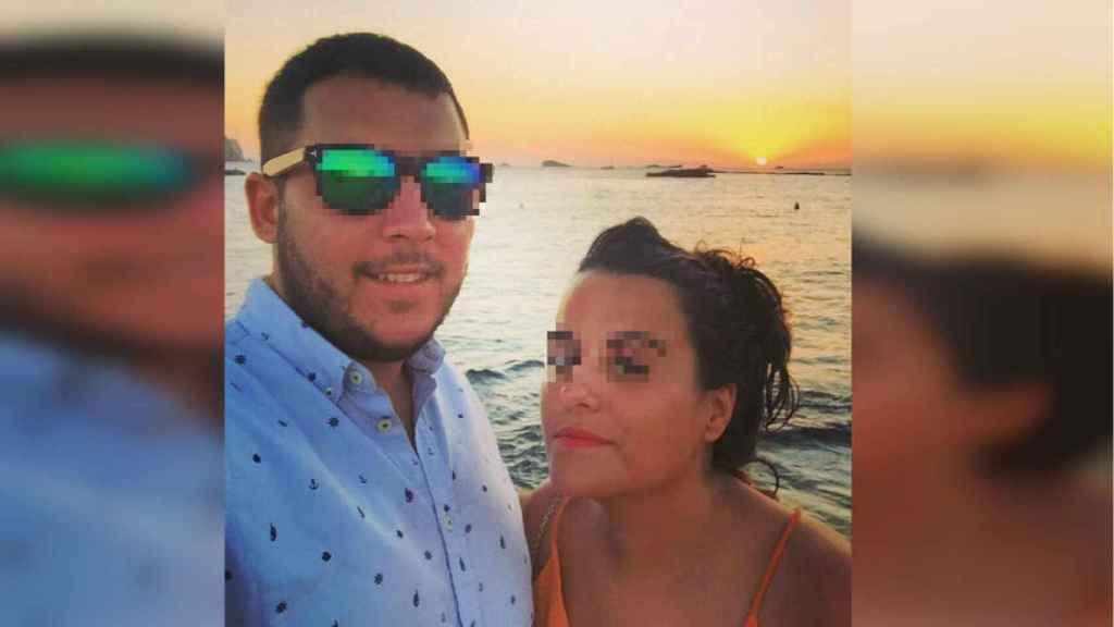 Silvia y su novio, Daniel, en una foto de redes sociales.