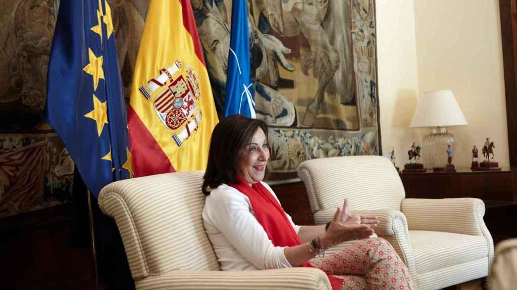 Margarita Robles afronta su segundo 12 de octubre al frente del Ministerio de Defensa.