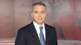 Vicente Vallés en una imagen promocional de Antena 3.